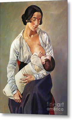 Severini: Maternity, 1916 Metal Print by Granger