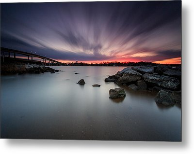 Metal Print featuring the photograph Severn River Dusk by Jennifer Casey