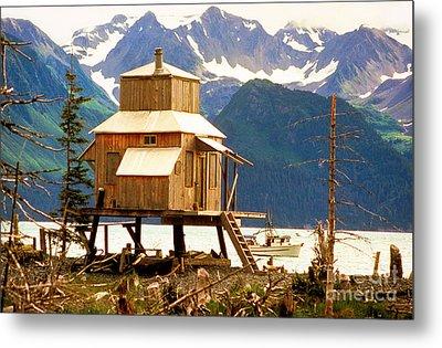 Seward Alaska House Of Stilts Metal Print by James BO  Insogna
