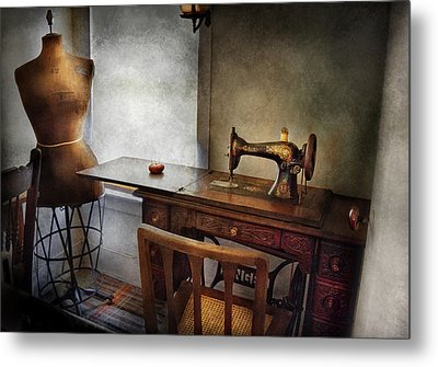 Sewing - A Tailors Life  Metal Print