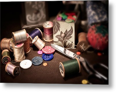 Sewing Notions I Metal Print