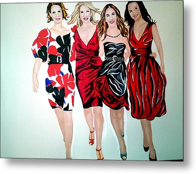 Sex And The City Metal Print by Pauline Murphy