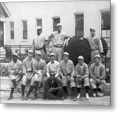 Sf Seals Baseball Team Metal Print by Underwood Archives