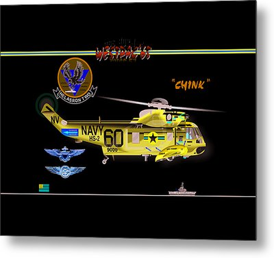 Sh-3a Seaking From Hs-2 Metal Print
