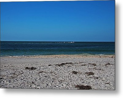 Metal Print featuring the photograph Shades Of Blue by Michiale Schneider