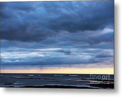 Metal Print featuring the photograph Shades Of Blue.. by Nina Stavlund