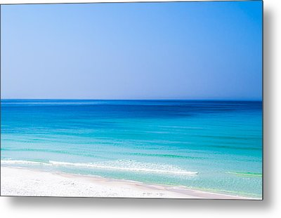 Shades Of Blue Metal Print by Shelby  Young