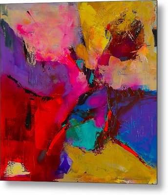 Metal Print featuring the painting Shades Of Colors - Art By Elise Palmigiani by Elise Palmigiani