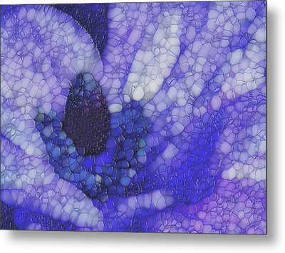 Shades Of Purple And Blue Metal Print by Jack Zulli
