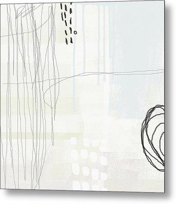 Shades Of White 1 - Art By Linda Woods Metal Print