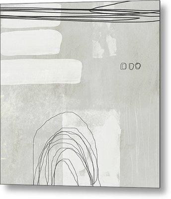 Shades Of White 2 - Art By Linda Woods Metal Print by Linda Woods