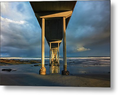 Shadow And Light Metal Print by Joseph S Giacalone