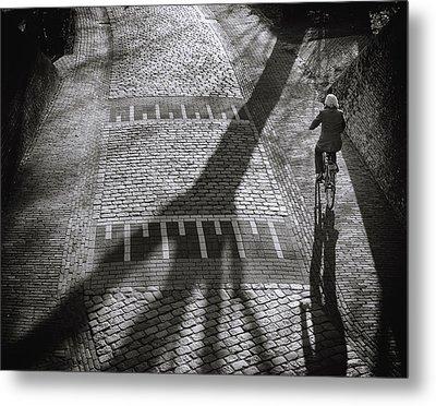 Shadow Metal Print by Henk Van Maastricht