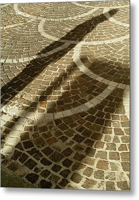 Metal Print featuring the photograph Shadow On Stone by Michael Flood