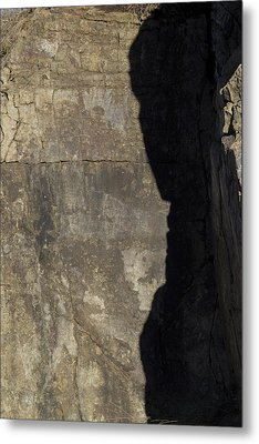 Shadow On The Stone Metal Print