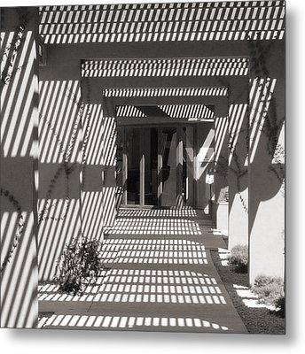 Shadow Puzzle Metal Print