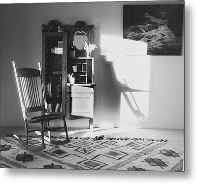 Shadow Time Metal Print
