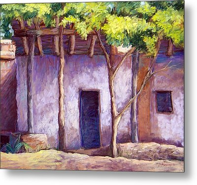 Shadowed Ruins Metal Print by Candy Mayer