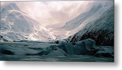 Shadows Of Portage Metal Print