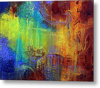 Shadows Of The Dream II Metal Print by Lolita Bronzini