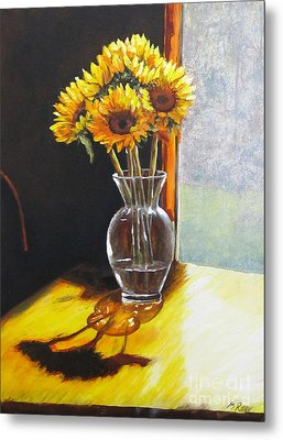 Shadows Metal Print by Pam Raney