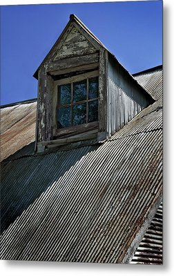Shadows Reflections And Lines Metal Print by Murray Bloom
