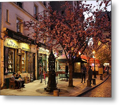 Metal Print featuring the photograph Shakespeare Book Shop 2 by Andrew Fare