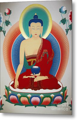 Shakyamuni Buddha  Metal Print