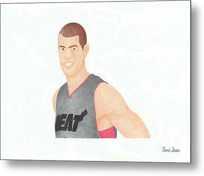 Shane Battier Metal Print by Toni Jaso