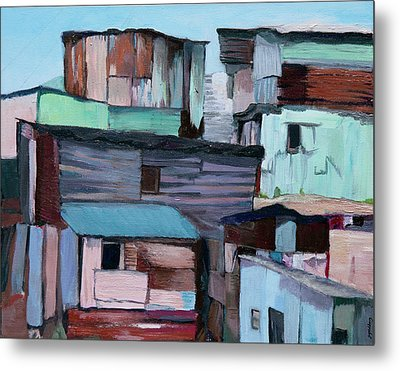 Shanties Metal Print