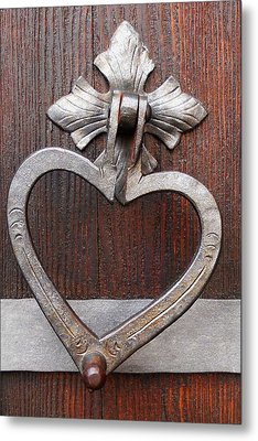 Metal Print featuring the photograph Shape Of My Heart by Juergen Weiss