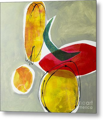Shapes And Color 2 Metal Print