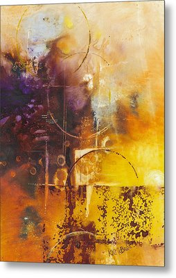 Shapes And Colors Metal Print by Ken McBride