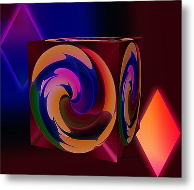 Shapes Metal Print by Anthony Caruso