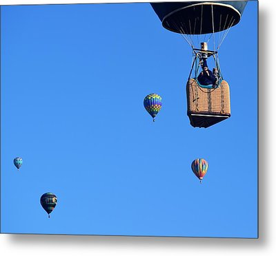 Share The Air Metal Print