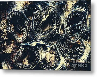 Shark Jaws Metal Print by Jorgo Photography - Wall Art Gallery