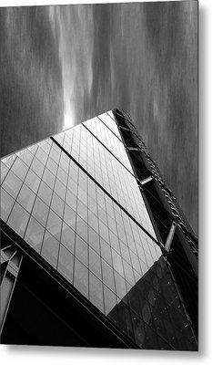 Sharp Angles Metal Print by Martin Newman