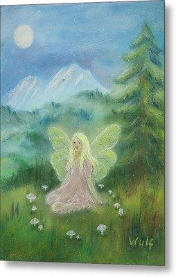 Shasta Fairy Metal Print