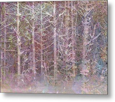 Shattered Forest Metal Print