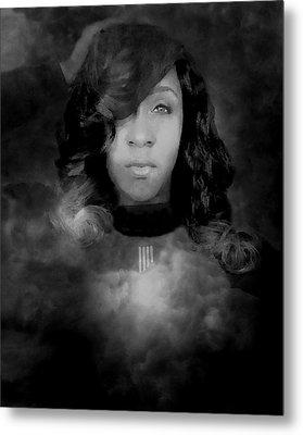 Shavon Portrait Metal Print