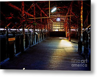 Shearing Shed From A Bygone Era Metal Print by Blair Stuart