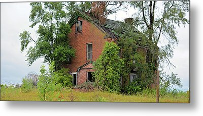 Sheffield House Panorama Metal Print by Bonfire Photography