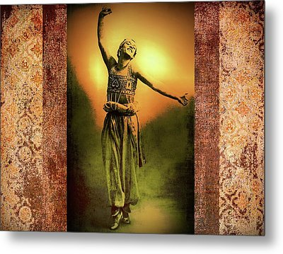 Sheherazade Metal Print by Mary Morawska