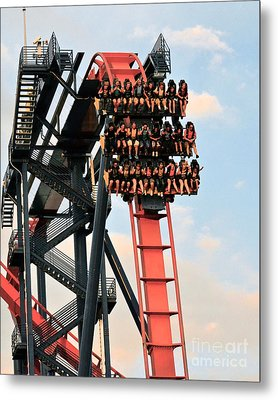 Sheikra Up Close Metal Print