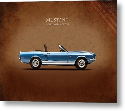 Shelby Cobra Gt500 Kr Metal Print by Mark Rogan