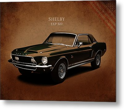 Shelby Mustang Exp 500 Metal Print by Mark Rogan