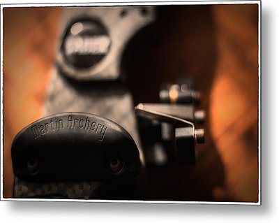 Metal Print featuring the photograph Shelf Rest by Tim Nichols