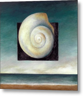 Shell 2 Metal Print by Katherine DuBose Fuerst