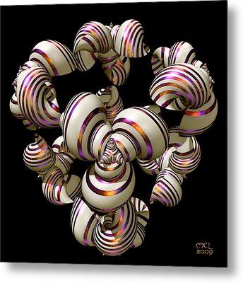 Shell Convergence Metal Print