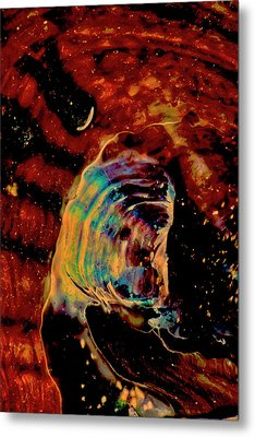 Shell Space Metal Print by Gina O'Brien